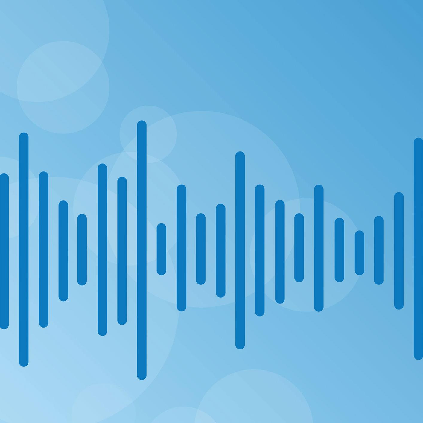 podcast waveform